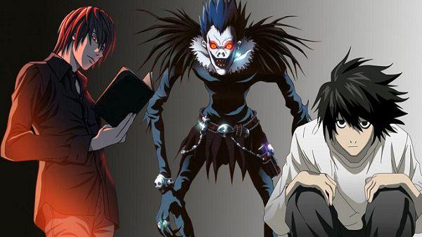 Тетрадь смерти: оригинальное аниме