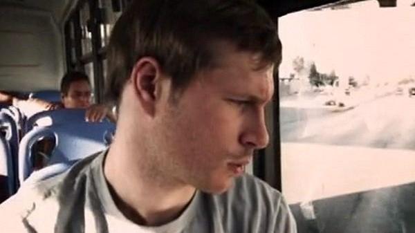 Бен в автобусе