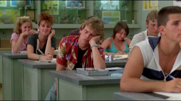 Сон в школе