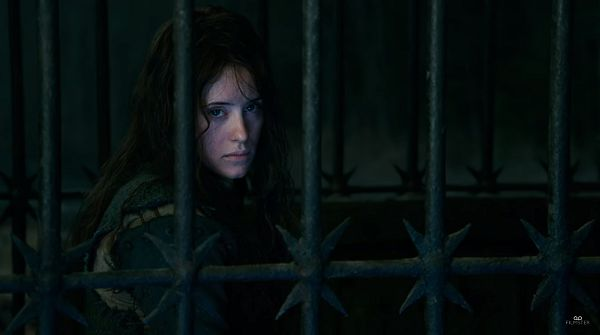 Ведьма в клетке