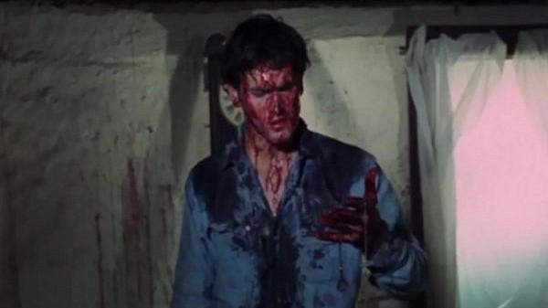 Мужчина в крови