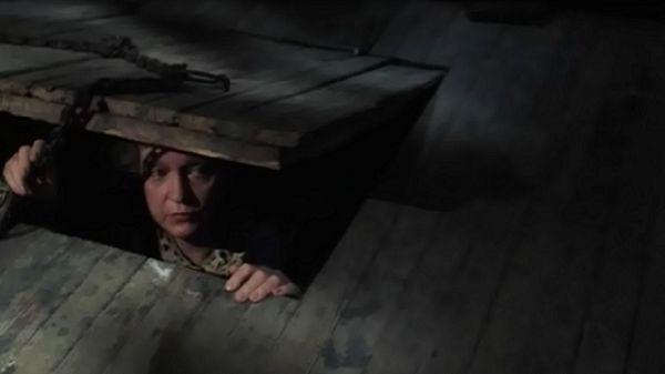 Женщина в подвале