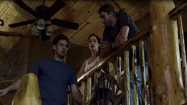 Друзья на лестнице