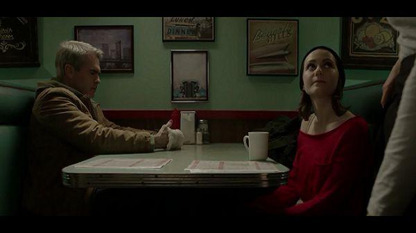 В кафе с дочерью