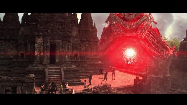 Взрыв красный