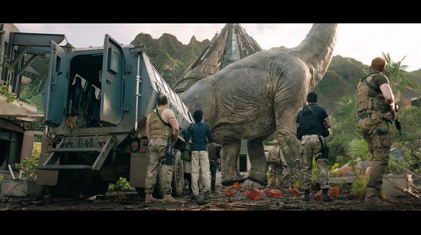 Военные и динозавры