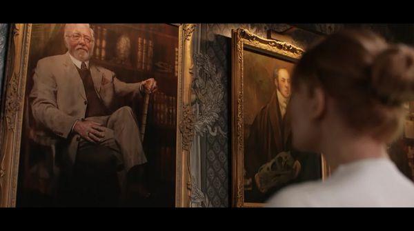 мужчина на портрете