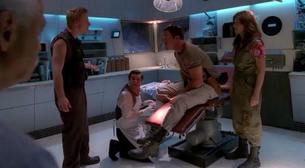 Экипаж в медотсеке