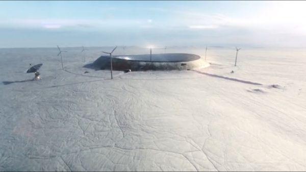 Лаборатория в Антарктиде