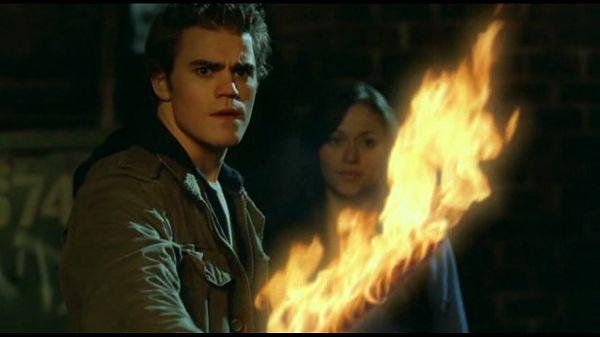 Аарон с огненным мечом