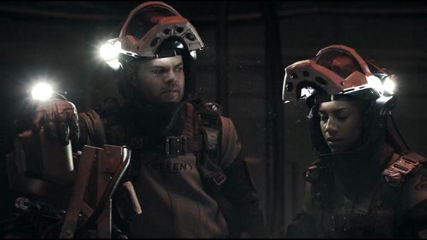 Астронавты к скафандрах