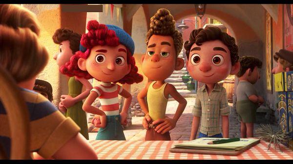 Джулия, Альберто и Лука