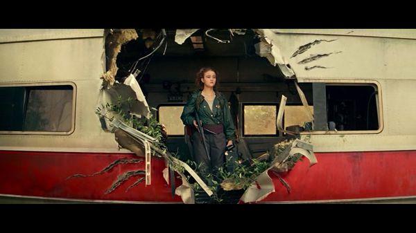 Риган в поезде